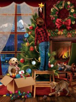 The Final Touch Christmas Jigsaw Puzzle