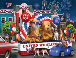 United We Stand Fireworks Jigsaw Puzzle