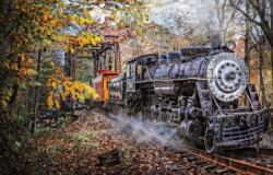 Train's Coming Trains Jigsaw Puzzle