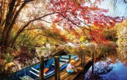 Morning Thoughts Lakes / Rivers / Streams Jigsaw Puzzle