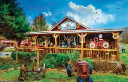 Pappy's General Store General Store Jigsaw Puzzle