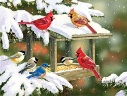 Winter Snacks Winter Jigsaw Puzzle