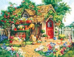 Gardener's  Haven Cottage/Cabin Jigsaw Puzzle