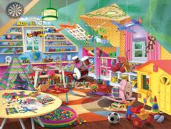 Child's Play Domestic Scene Jigsaw Puzzle