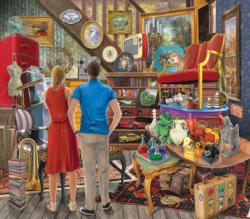 Forgotten Treasures Domestic Scene Jigsaw Puzzle
