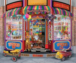 The Corner Toy Shop Shopping Jigsaw Puzzle