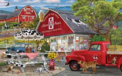 Dairy Bar Food and Drink Jigsaw Puzzle