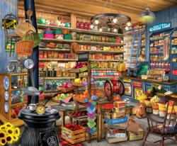 Mom and Pops Shopping Jigsaw Puzzle