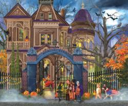 Moonlight Manor Halloween Jigsaw Puzzle