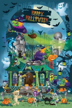 Trick or Treat for All Ages Halloween Family Puzzle