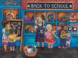 School Time Shopping Jigsaw Puzzle