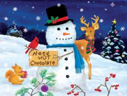 Need Hot Chocolate Snow Jigsaw Puzzle