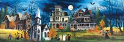 Spooky Lane Halloween Jigsaw Puzzle