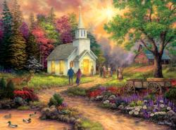Strength along the Journey Churches Jigsaw Puzzle