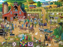 Country Farm Nostalgic / Retro Jigsaw Puzzle