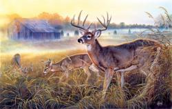 The Boys Club Deer Jigsaw Puzzle