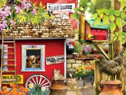 The Milk House Farm Animals Jigsaw Puzzle