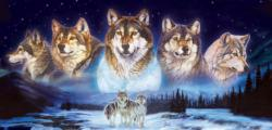 Wolves in the Snow Jigsaw Puzzle