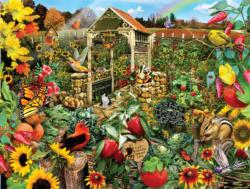 Community Garden Collage Jigsaw Puzzle