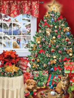 Catastrotree Christmas Family Puzzle