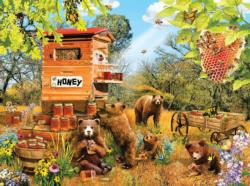 Bears and Bees Bears Jigsaw Puzzle