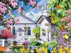 Time for Church Churches Jigsaw Puzzle