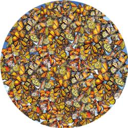 Monarch Frenzy Butterflies and Insects Jigsaw Puzzle