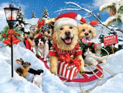 Here We Come Christmas Jigsaw Puzzle