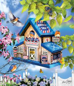 Barber Shop - Scratch and Dent Birds Jigsaw Puzzle