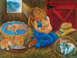 Love at First Sight Cats Jigsaw Puzzle