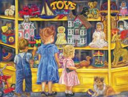 Shopping for Toys Shopping Jigsaw Puzzle