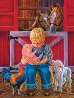 Little Farm Friends Farm Animals Jigsaw Puzzle