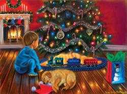 Under the Tree Domestic Scene Jigsaw Puzzle