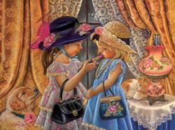 Playing Dress Up People Jigsaw Puzzle