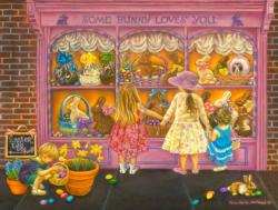Some Bunny Loves You Shopping Jigsaw Puzzle