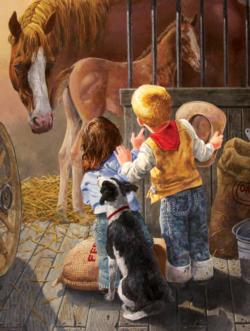 New Arrival Horses Jigsaw Puzzle