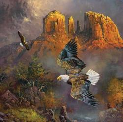 Sedona Eagles Landscape Jigsaw Puzzle
