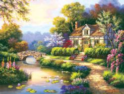 Swan Cottage II Jigsaw Puzzle