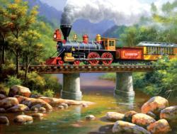 The Lexington Express Trains Large Piece