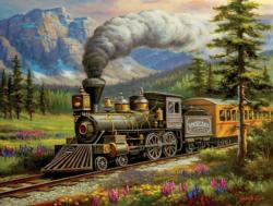 Rockland Express Trains Jigsaw Puzzle