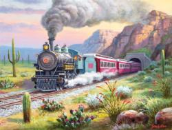Desert Run Trains Jigsaw Puzzle