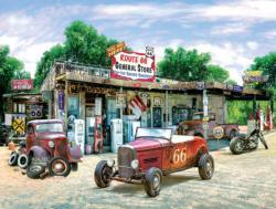 Route 66 General Store Nostalgic / Retro Jigsaw Puzzle