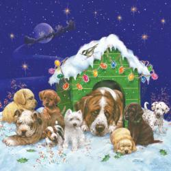 Naughty or Nice Snow Jigsaw Puzzle