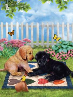 Play Date Dogs Jigsaw Puzzle