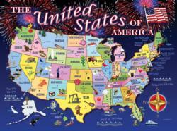 United States Map United States Jigsaw Puzzle