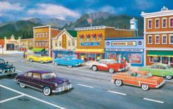 Main Street of Memories Nostalgic / Retro Jigsaw Puzzle