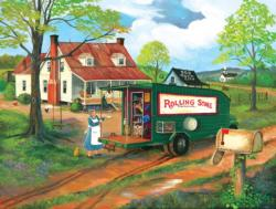 The Rolling Store People Jigsaw Puzzle