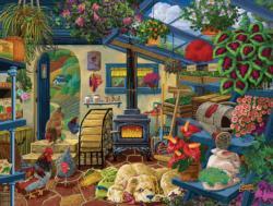 The Range Free Bandits Domestic Scene Jigsaw Puzzle