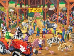 4 H Fair Nostalgic / Retro Jigsaw Puzzle