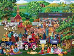 State Fair Picnics Nostalgic / Retro Jigsaw Puzzle